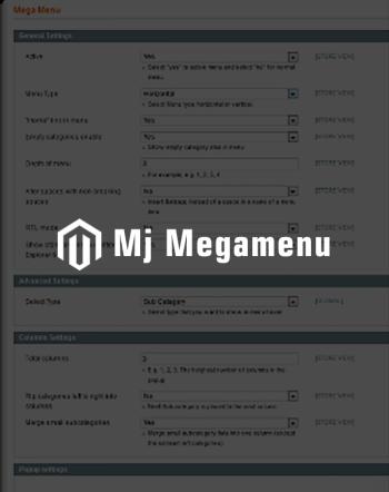 Responsive Megamenu Magento Extension