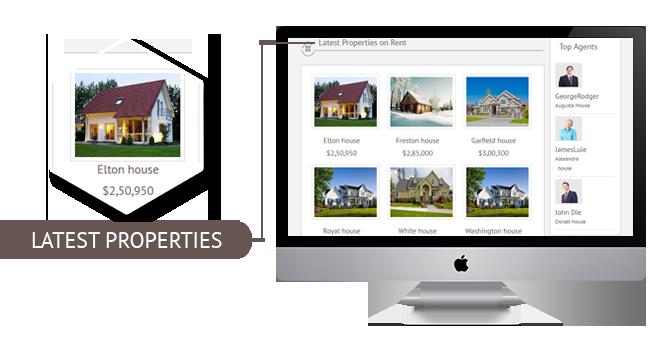 latestproperty for Responsive Real Estate Theme Joomla