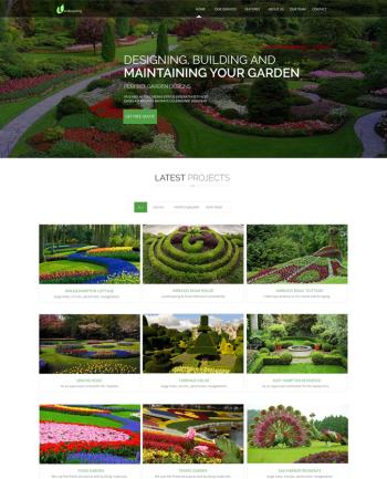 Responsive Landscape Template