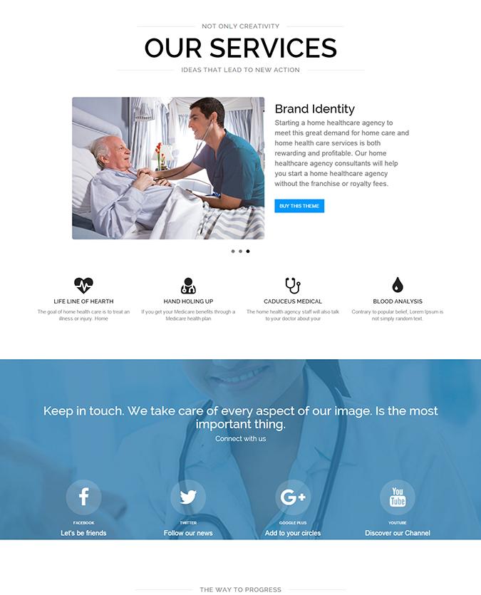 Responsive Healthcare Theme